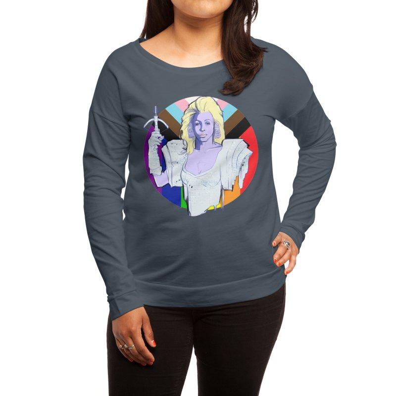 Aunty Entity PRIDE Women's Longsleeve T-Shirt by Ego Rodriguez