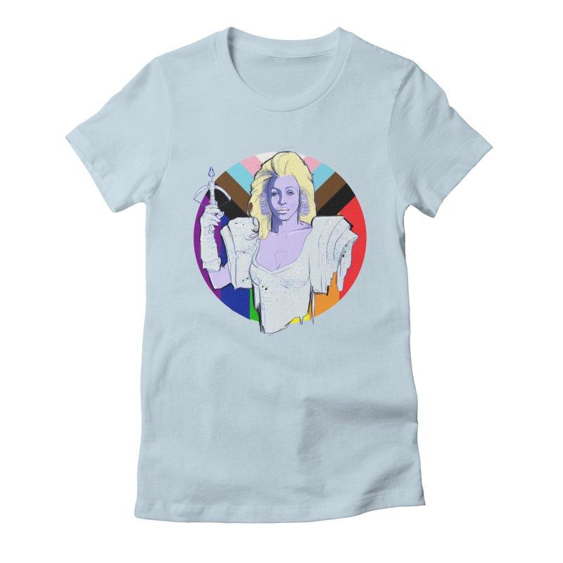 Aunty Entity PRIDE Women's T-Shirt by Ego Rodriguez