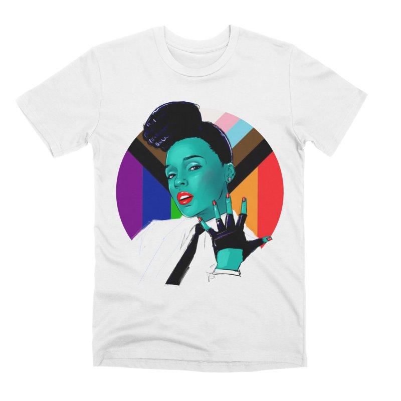 Janelle PRIDE Men's T-Shirt by Ego Rodriguez
