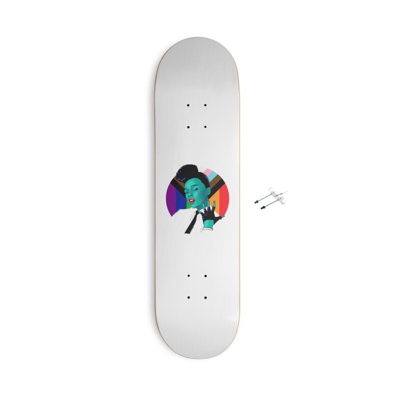 Janelle PRIDE Accessories Skateboard by Ego Rodriguez