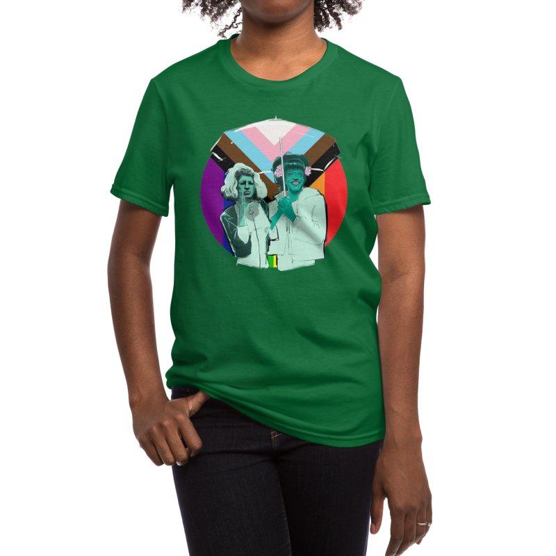 Sylvia & Marsha PRIDE Women's T-Shirt by Ego Rodriguez