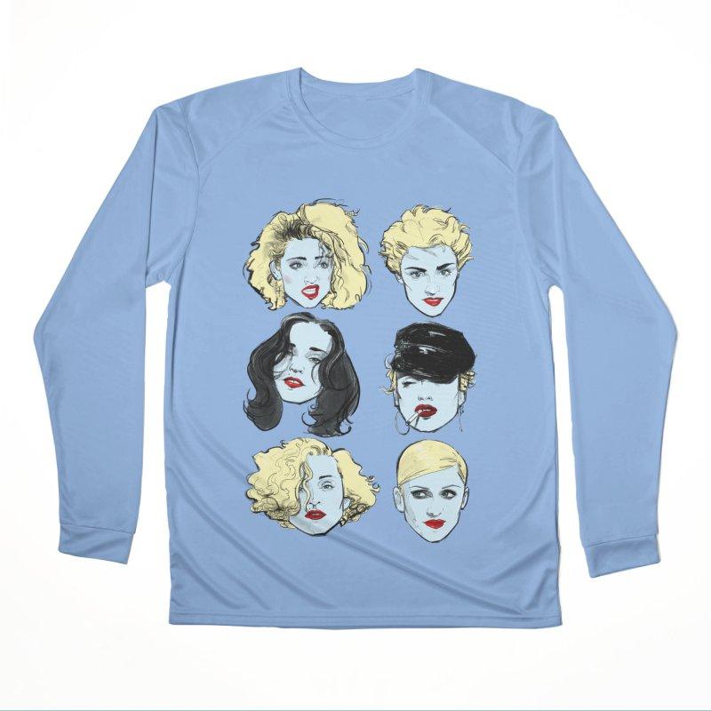 Who's That Girl? in Men's Performance Longsleeve T-Shirt Bimini Blue by Ego Rodriguez