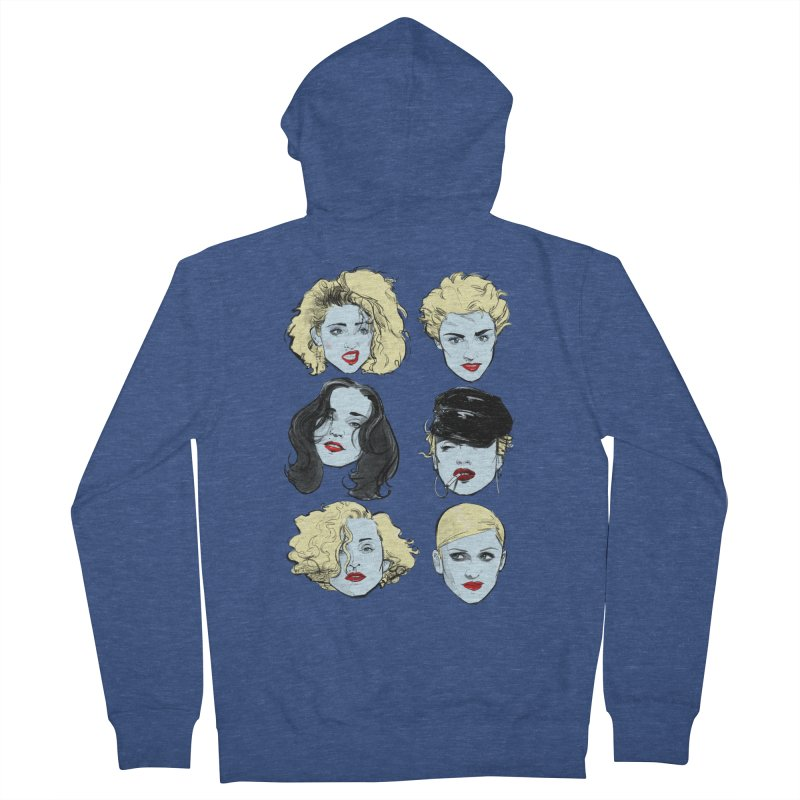 Who's That Girl? Men's Zip-Up Hoody by Ego Rodriguez
