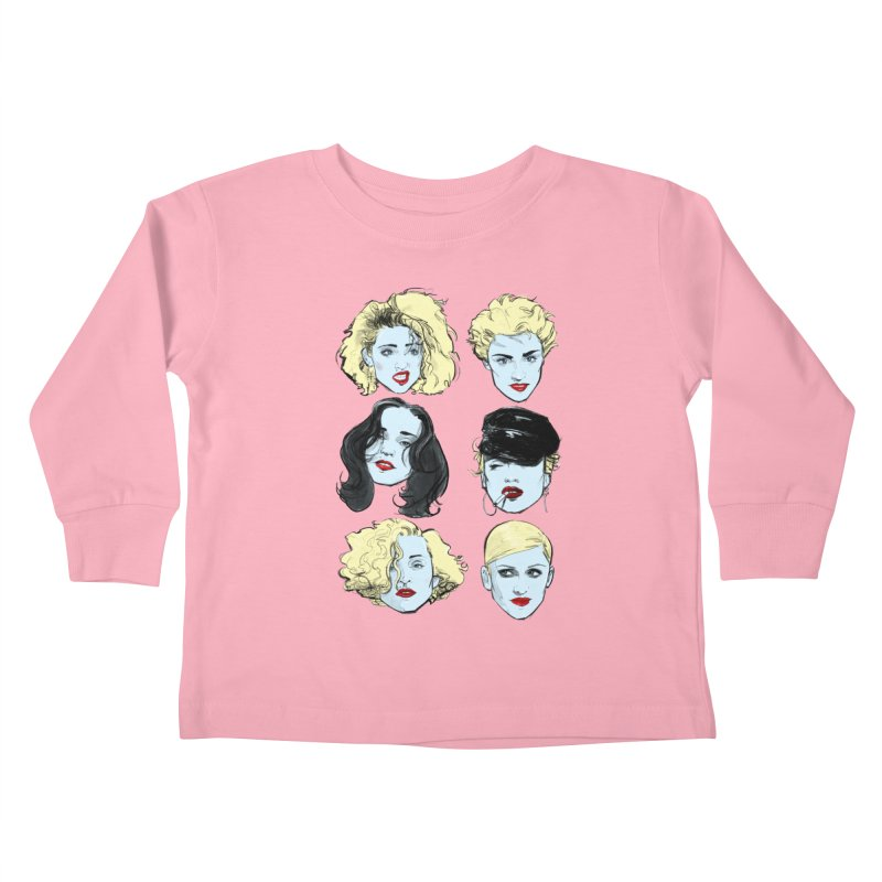 Who's That Girl? Kids Toddler Longsleeve T-Shirt by Ego Rodriguez's Shop