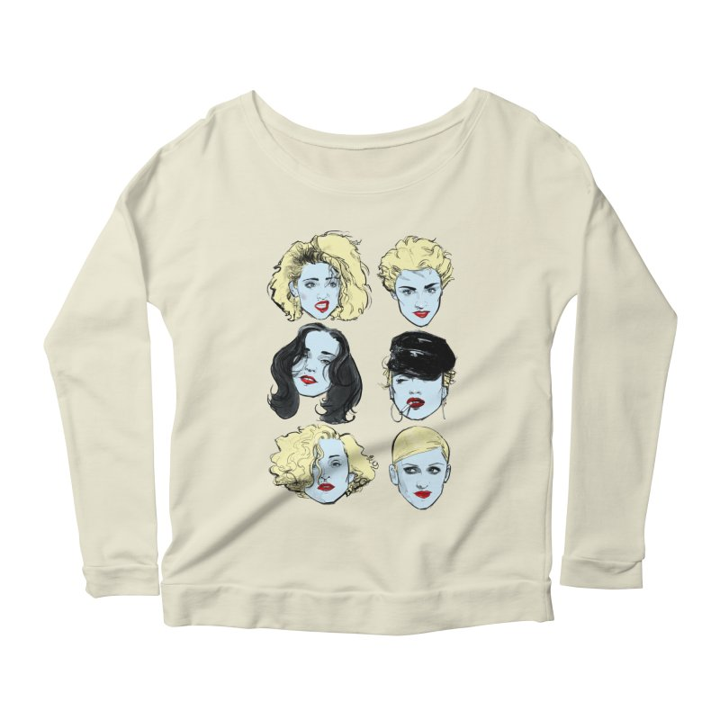 Who's That Girl? Women's Scoop Neck Longsleeve T-Shirt by Ego Rodriguez