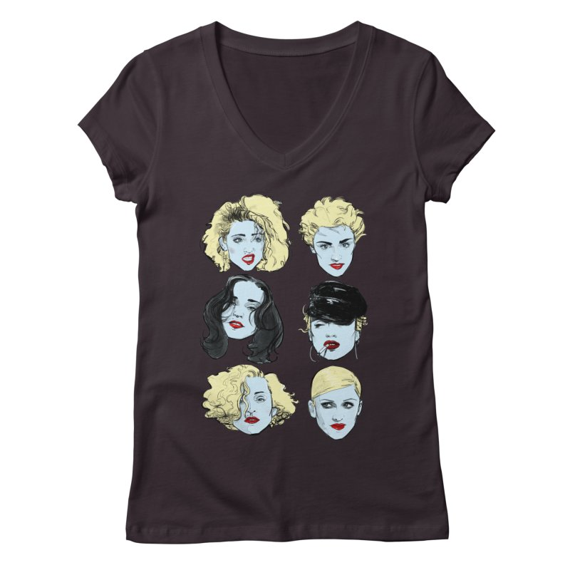Who's That Girl? Women's V-Neck by Ego Rodriguez's Shop