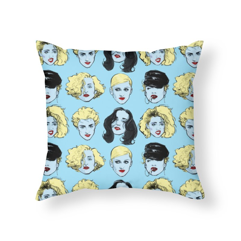 Who's That Girl? Home Throw Pillow by Ego Rodriguez