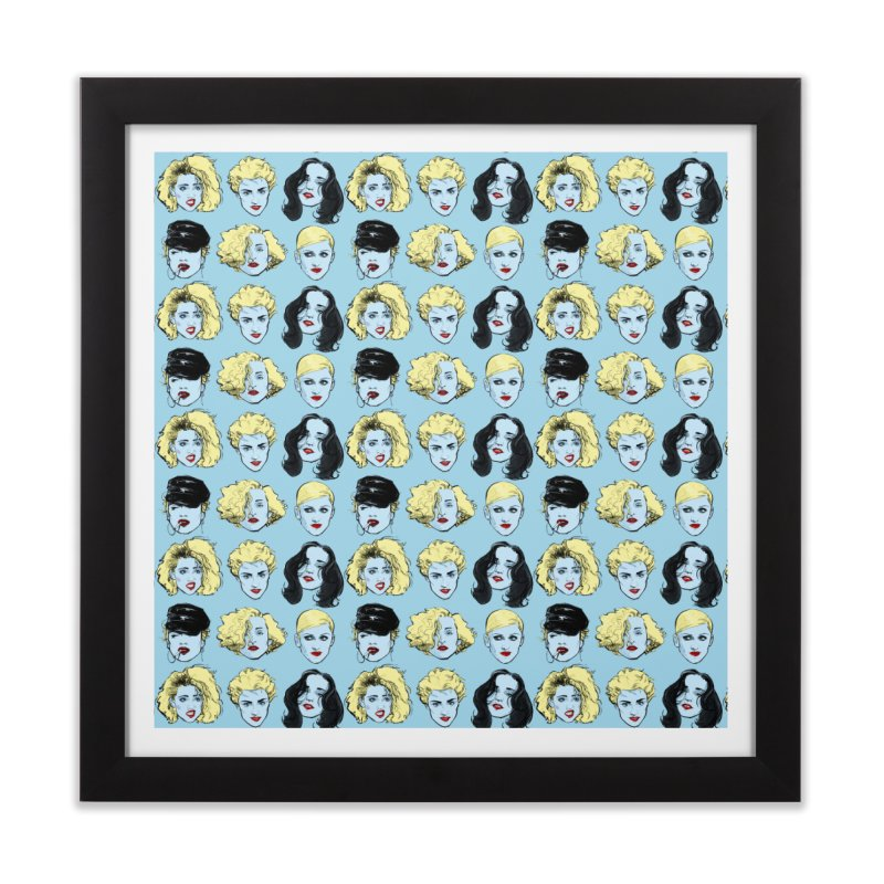 Who's That Girl? Home Framed Fine Art Print by Ego Rodriguez