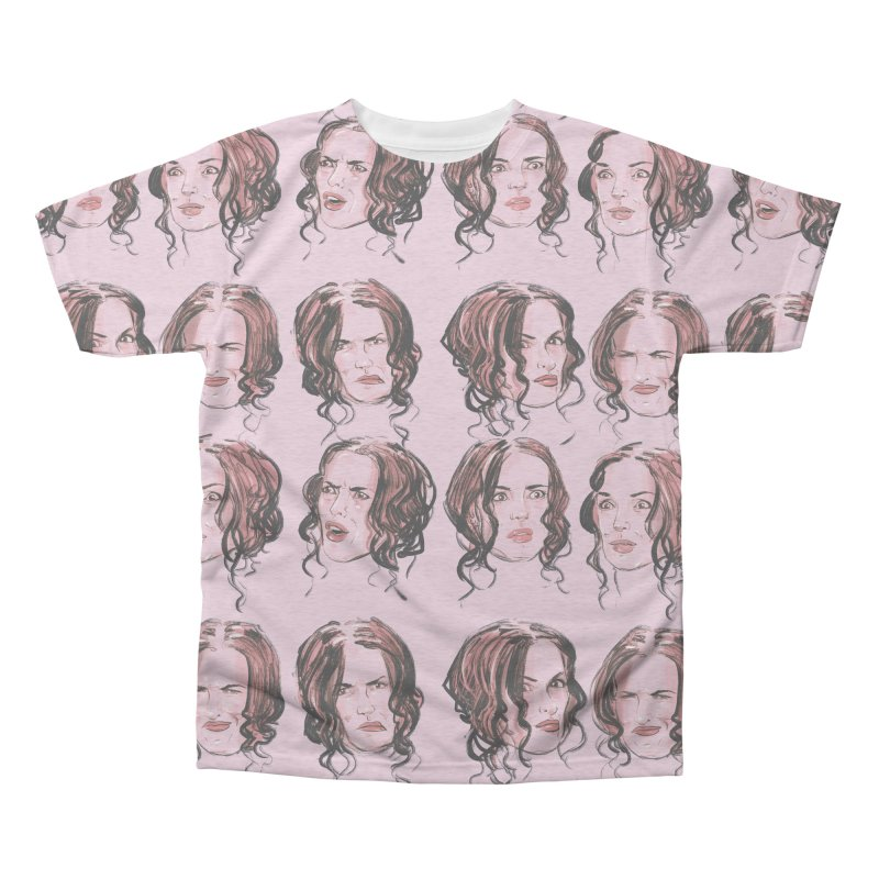 We Love Winona Men's All Over Print by Ego Rodriguez