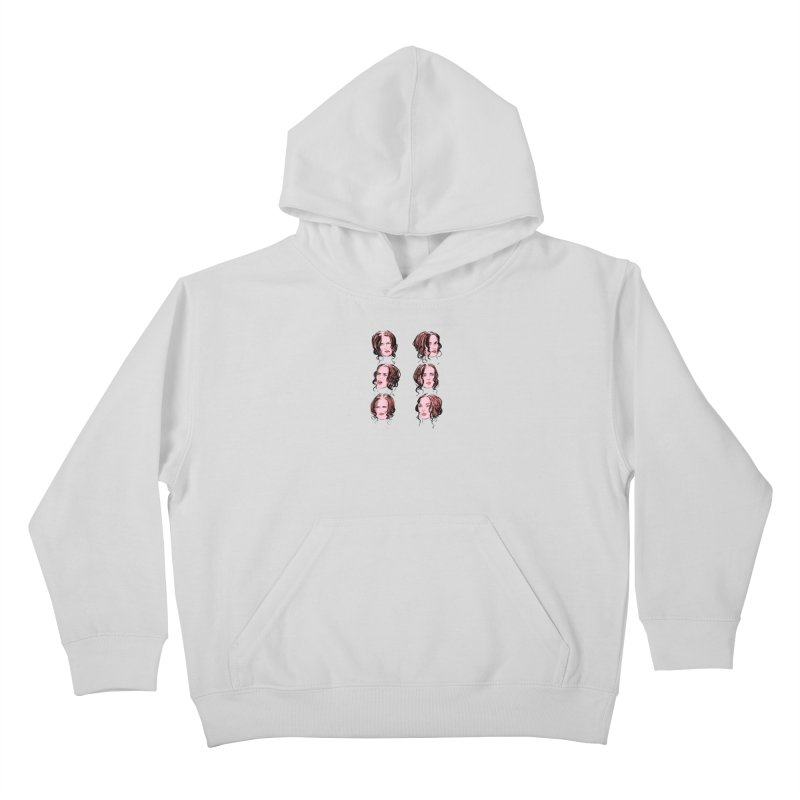 We Love Winona Kids Pullover Hoody by Ego Rodriguez