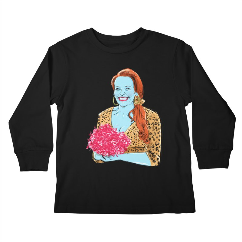 Muriel Kids Longsleeve T-Shirt by Ego Rodriguez's Shop