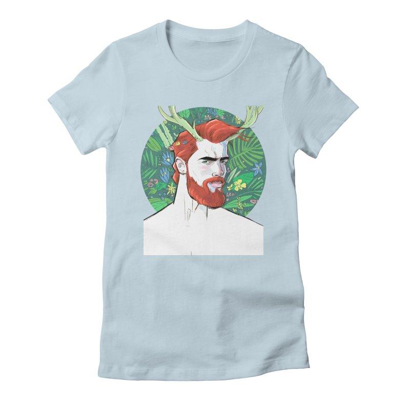 Cernunnos Women's T-Shirt by Ego Rodriguez