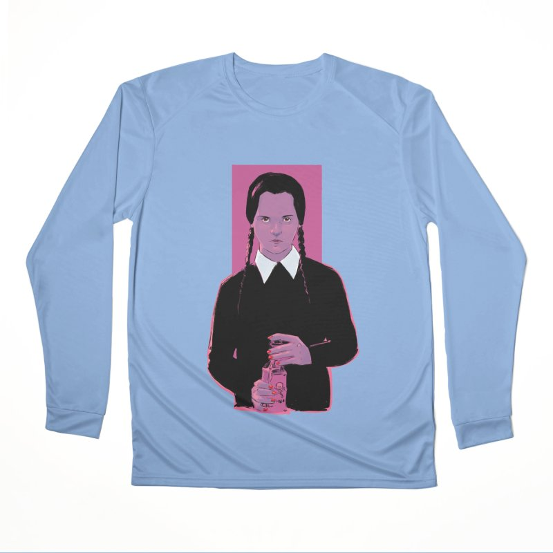 Wednesday Women's Longsleeve T-Shirt by Ego Rodriguez
