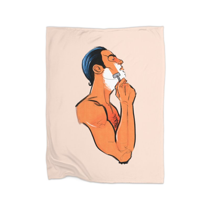 Shave Home Blanket by Ego Rodriguez