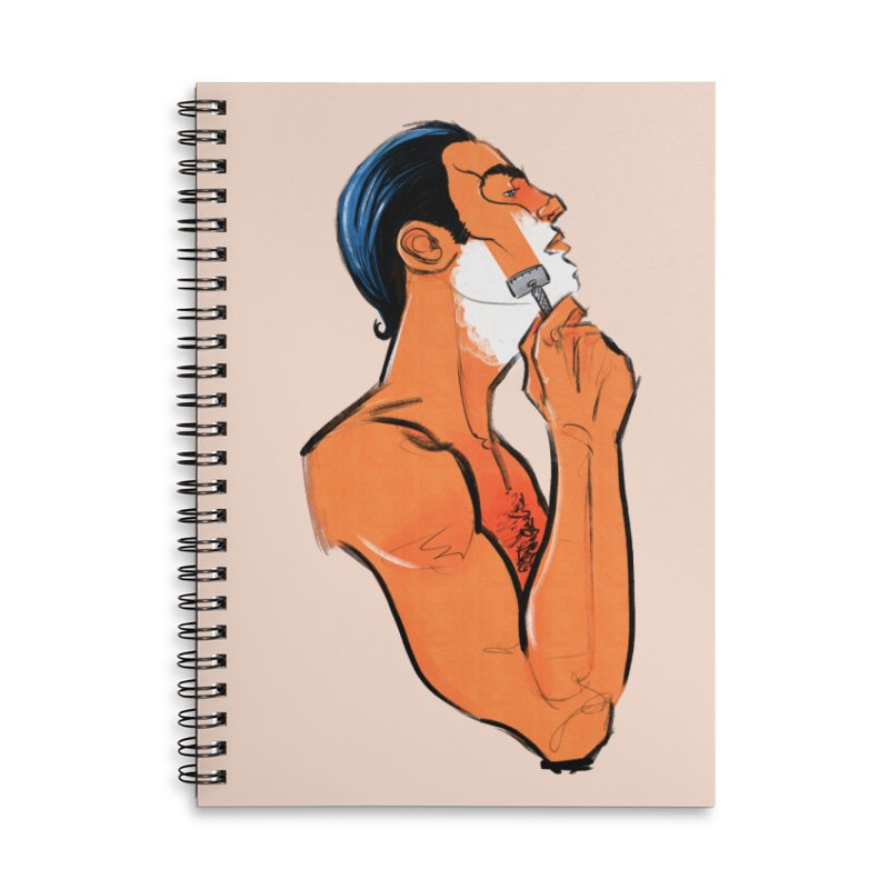 Shave Accessories Notebook by Ego Rodriguez