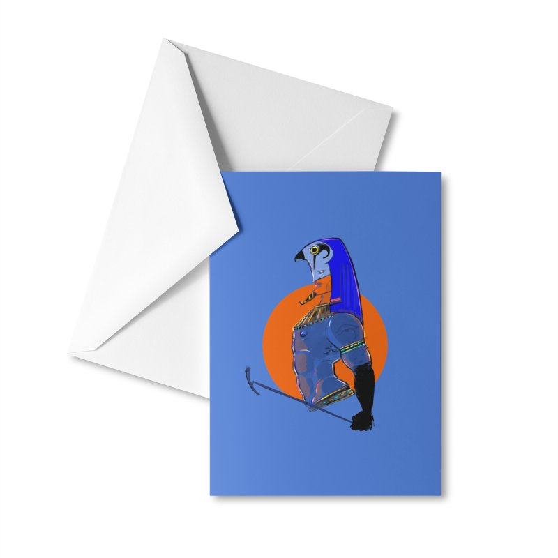 Ra Accessories Greeting Card by Ego Rodriguez
