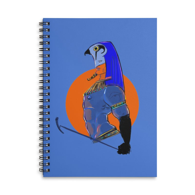 Ra Accessories Notebook by Ego Rodriguez