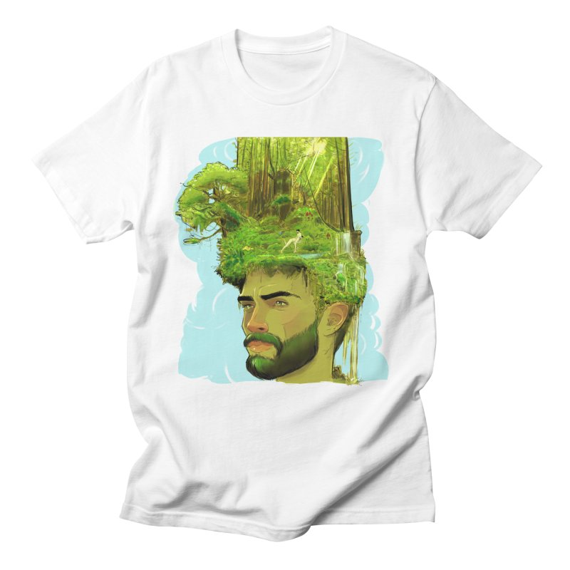 Planet i Men's T-Shirt by Ego Rodriguez