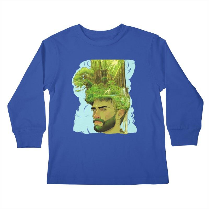 Planet i Kids Longsleeve T-Shirt by Ego Rodriguez