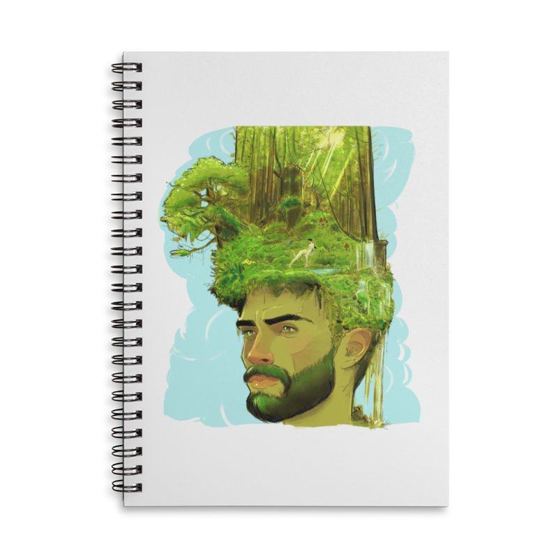 Planet i Accessories Notebook by Ego Rodriguez