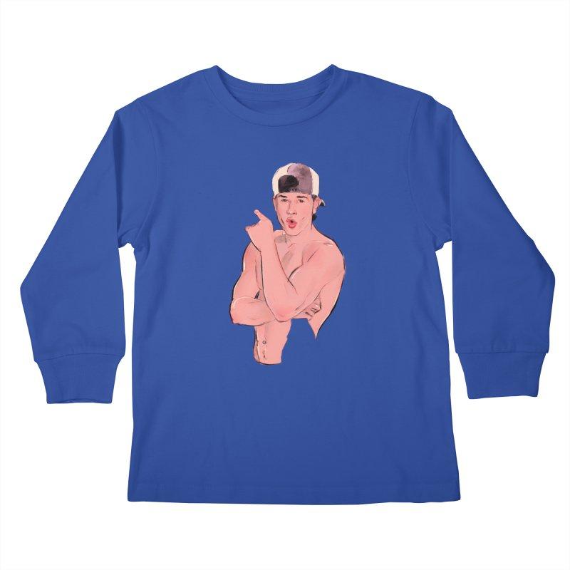 Marky Kids Longsleeve T-Shirt by Ego Rodriguez