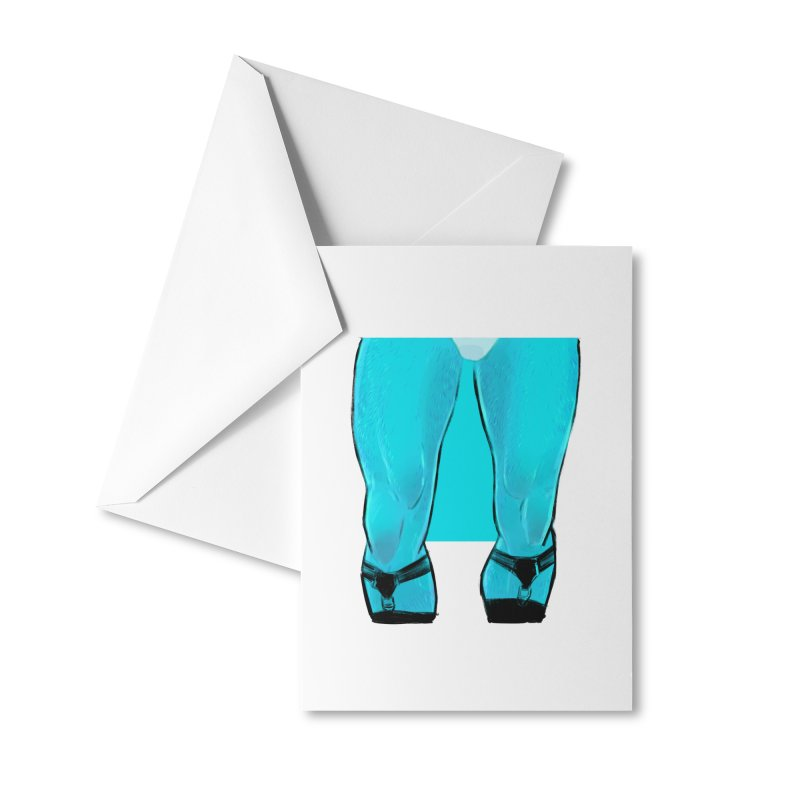 Garter Accessories Greeting Card by Ego Rodriguez