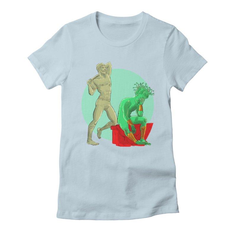 Gorgon Regrets Women's T-Shirt by Ego Rodriguez