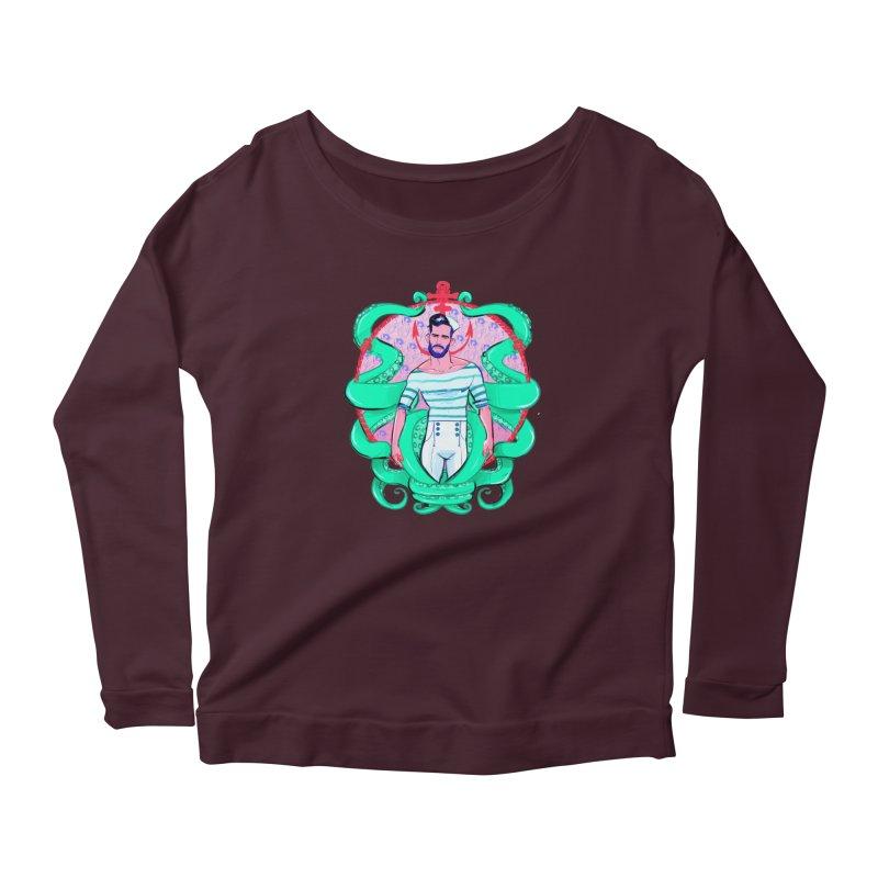 Sail-O-Rama Women's Scoop Neck Longsleeve T-Shirt by Ego Rodriguez