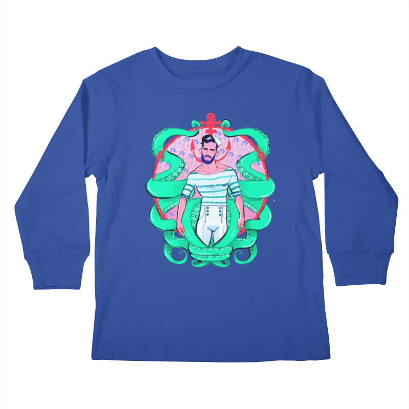 Sail-O-Rama Kids Longsleeve T-Shirt by Ego Rodriguez's Shop