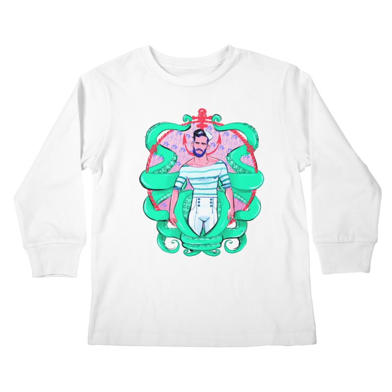 Sail-O-Rama Kids Longsleeve T-Shirt by Ego Rodriguez's Shop
