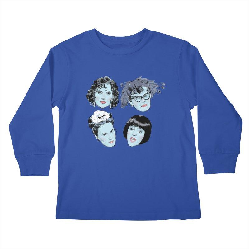 Murderous Kids Longsleeve T-Shirt by Ego Rodriguez