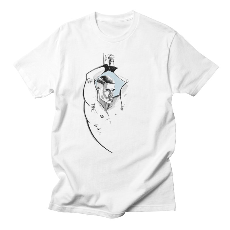 Rope in Men's Regular T-Shirt White by Ego Rodriguez