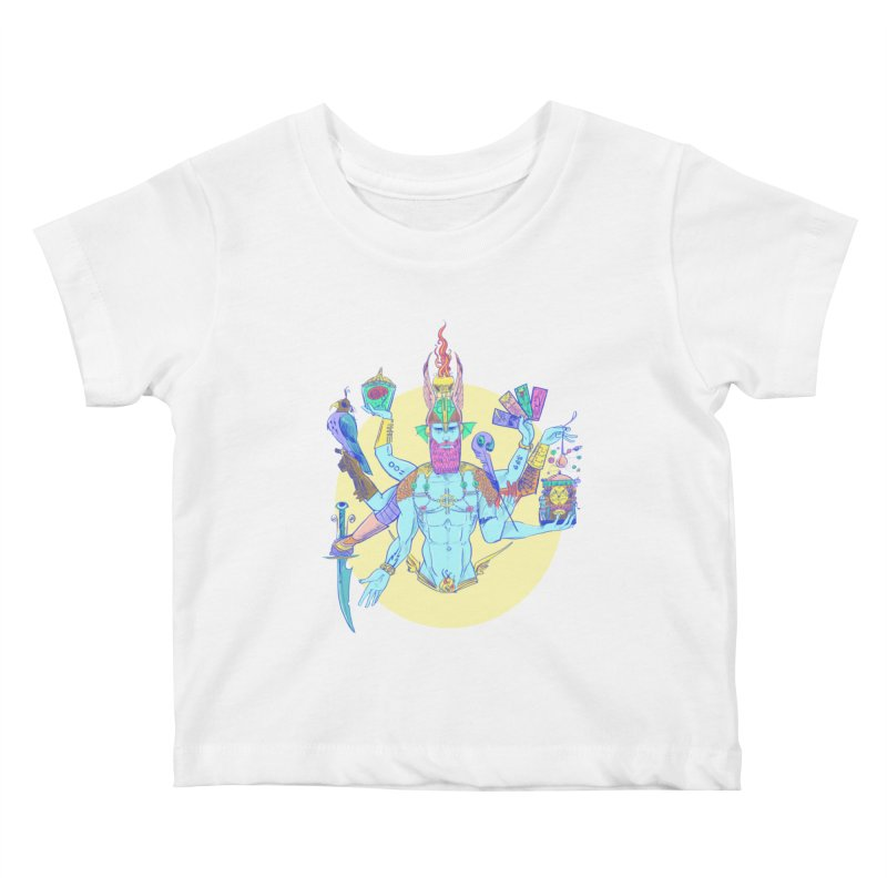 Impossible God Kids Baby T-Shirt by Ego Rodriguez's Shop