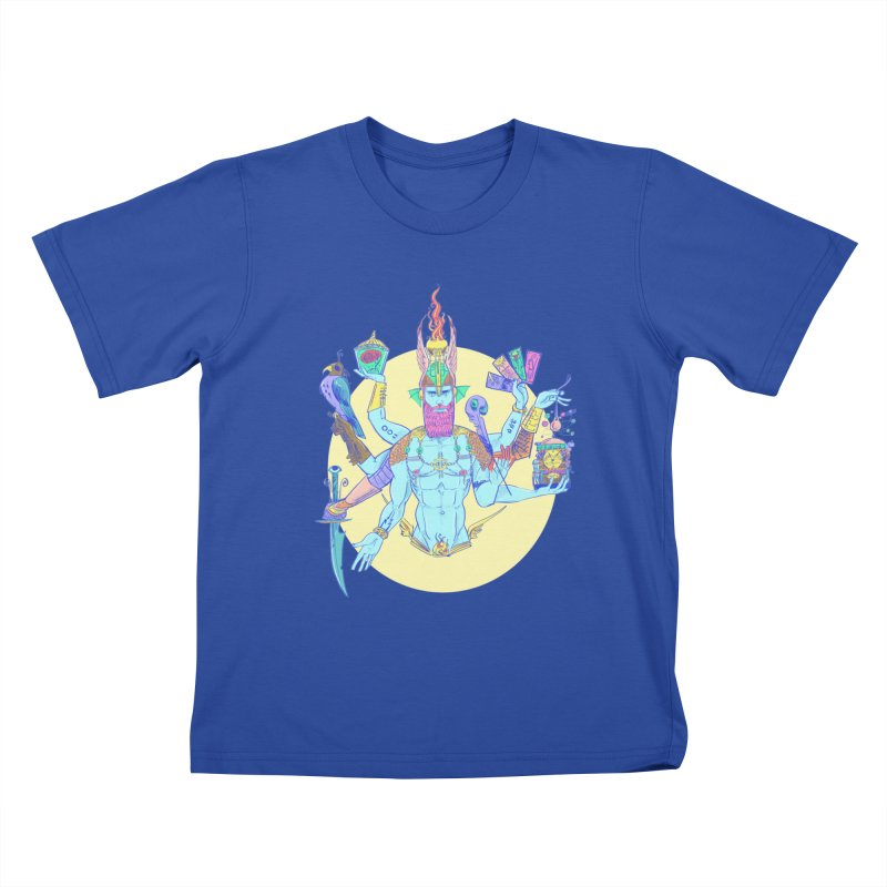 Impossible God Kids T-shirt by Ego Rodriguez's Shop