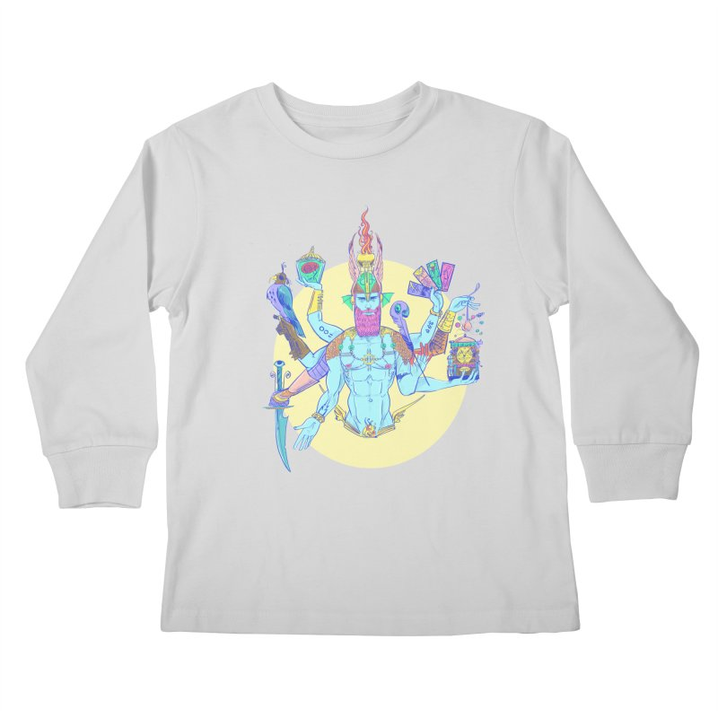 Impossible God Kids Longsleeve T-Shirt by Ego Rodriguez's Shop