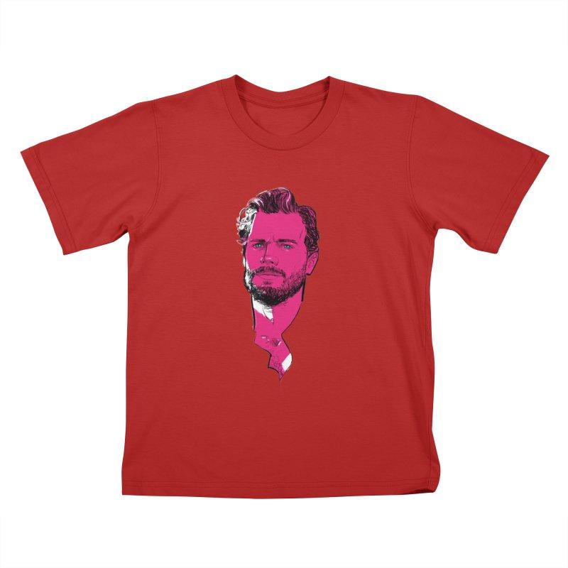 Jamie D. Kids T-shirt by Ego Rodriguez's Shop