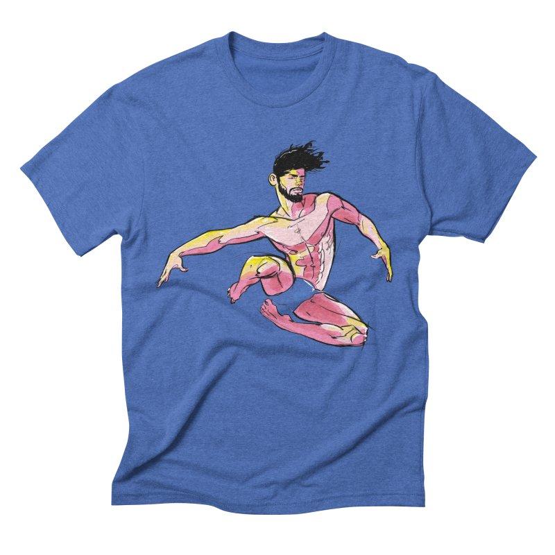 Jump Men's Triblend T-shirt by Ego Rodriguez's Shop