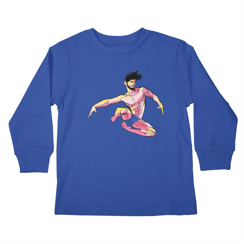 Jump Kids Longsleeve T-Shirt by Ego Rodriguez's Shop