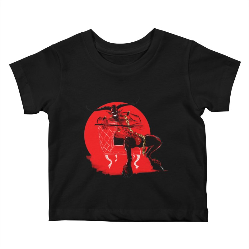 Krampus Kids Baby T-Shirt by Ego Rodriguez's Shop