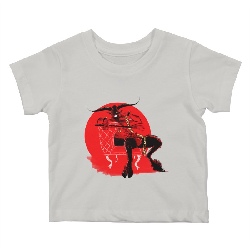 Krampus Kids Baby T-Shirt by Ego Rodriguez's Shop