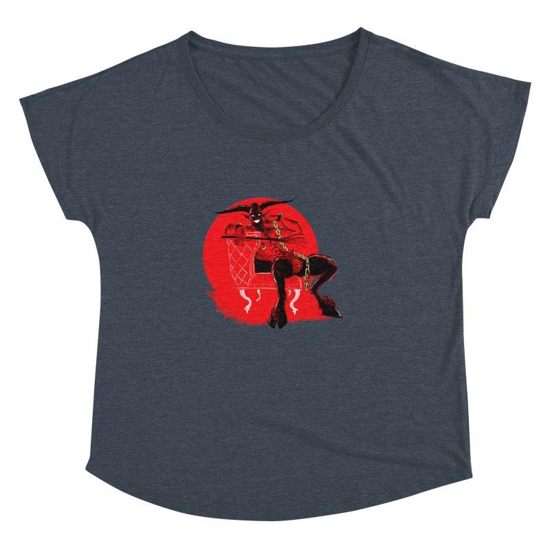 Krampus Women's Dolman Scoop Neck by Ego Rodriguez