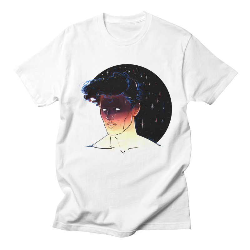 Morpheus in Men's T-shirt White by Ego Rodriguez's Shop