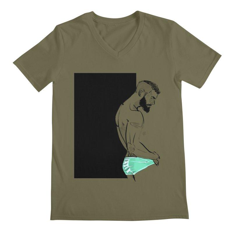 Olivier Men's V-Neck by Ego Rodriguez's Shop