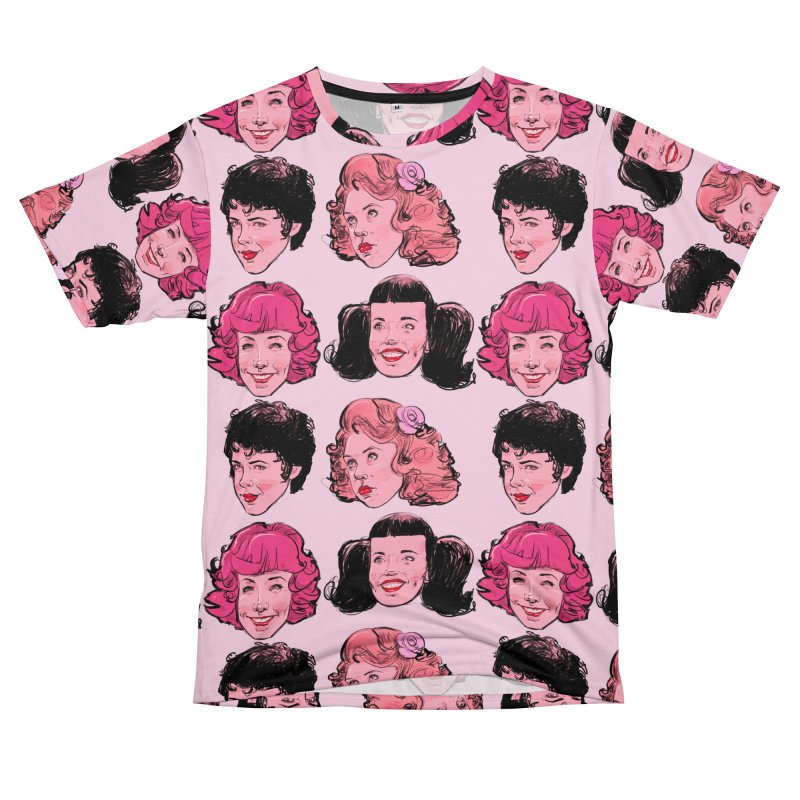 Pink Ladies Men's T-Shirt Cut & Sew by Ego Rodriguez