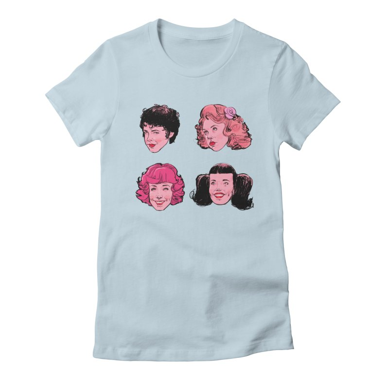 Pink Ladies Women's T-Shirt by Ego Rodriguez