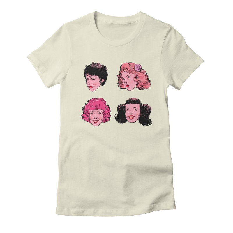 Pink Ladies Women's Fitted T-Shirt by Ego Rodriguez's Shop