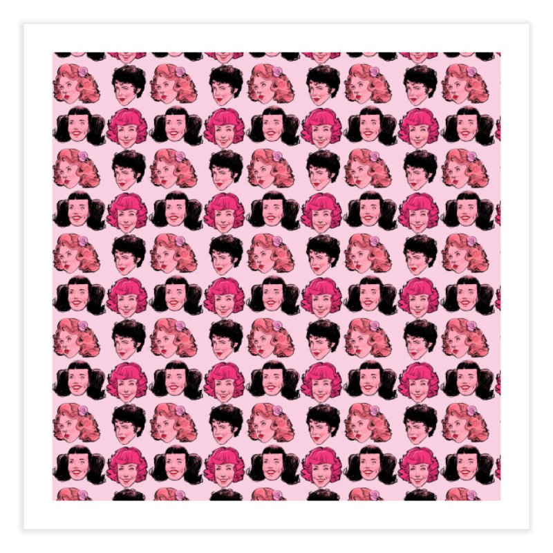 Pink Ladies Home Fine Art Print by Ego Rodriguez