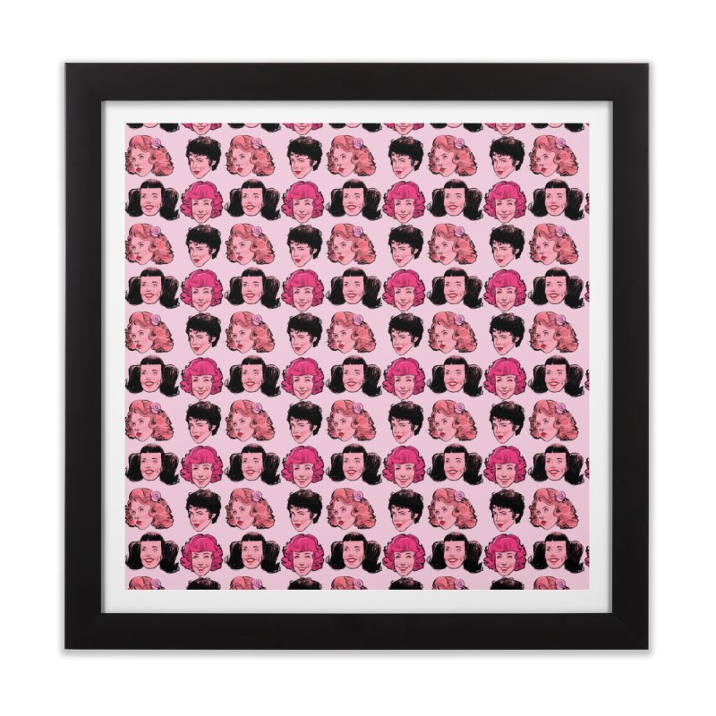 Pink Ladies Home Framed Fine Art Print by Ego Rodriguez