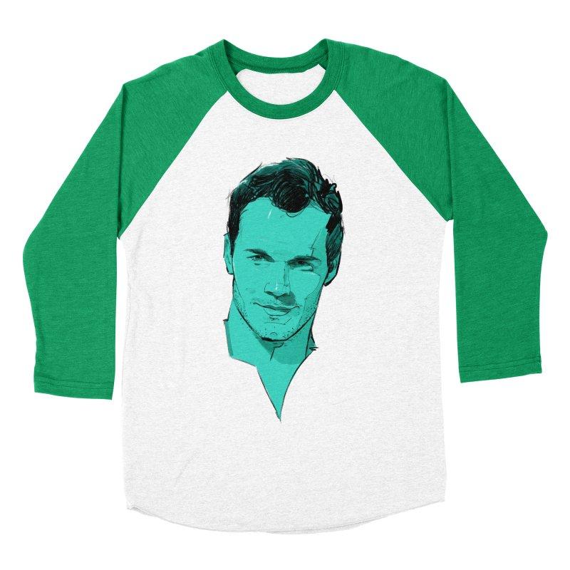 Chris P. Men's Baseball Triblend T-Shirt by Ego Rodriguez's Shop