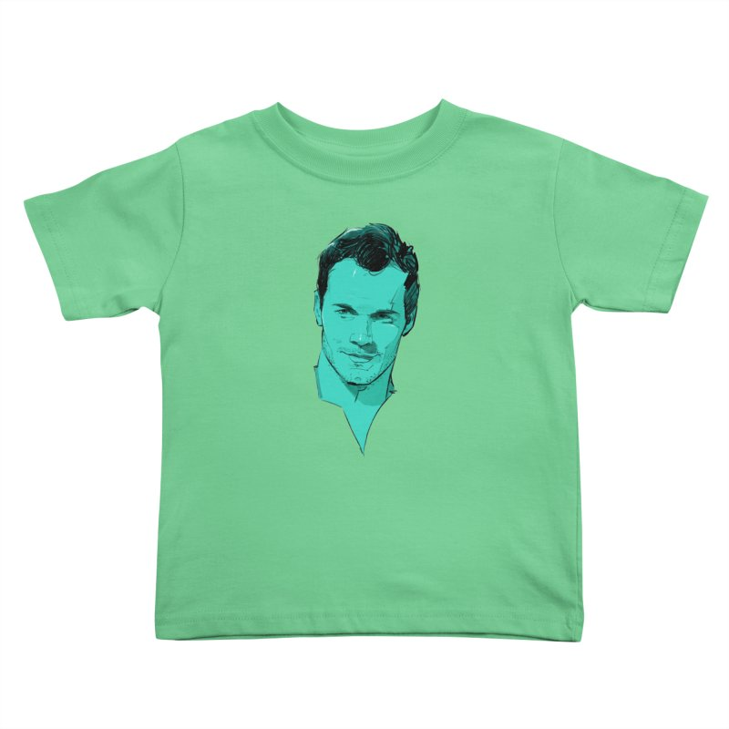 Chris P. Kids Toddler T-Shirt by Ego Rodriguez
